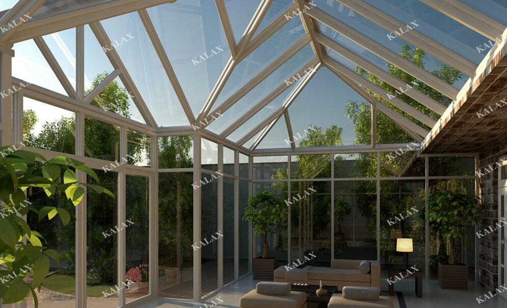 铝合金结构阳光房,木结构阳光房